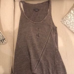 Vince Thick Distressed Tank XS